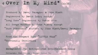 "John Hiatt: ""Over In My Mind"" (from ""Sure Pinocchio"" cd single)"