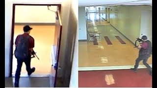 Horrifying Footage Released Shows Nikolas Cruz Stalking His School Halls with AR-15
