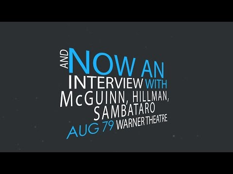WHFS - McGuinn, Hillman, Sambataro Interview (unedited)...