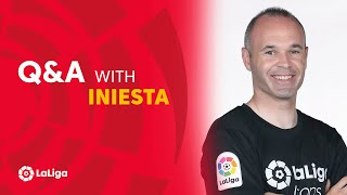 Who is Andrés Iniesta's favourite player? | Barcelona legend responds to questions from LaLiga fans!