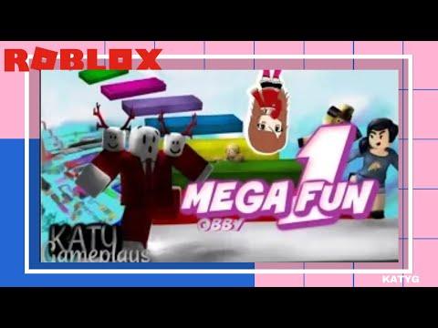 MEGA FUN OBBY | ¿Podré pasar +DE10 LVLS? | Katy Gameplays