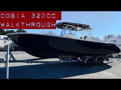 Cobia 320 Center Console video