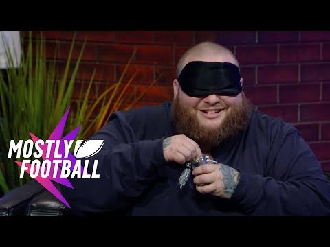 """Action Bronson Plays """"Guess The Weed Strain"""" With Martellus Bennett   Mostly Football"""