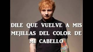 One Night - Ed Sheeran en Español