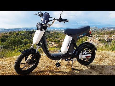 "Gigabyke Review: Electric Bicycle ""Scooter"" eBike!"