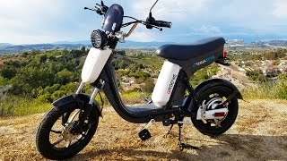 """Gigabyke Review: Electric Bicycle """"Scooter"""" eBike!"""