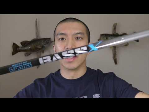 2017 St Croix Bass X Rod Review