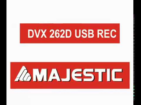 Majestic Lettore DVX 262 T2 HEVC USB RECORDER
