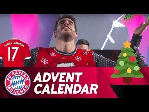 Pantomime w/ Javi Martínez   FC Bayern Xmas Advent Calendar #17
