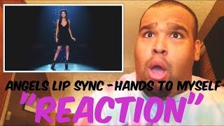 "Victoria's Secret Angels Lip Sync ""Hands to Myself"" [REACTION]"