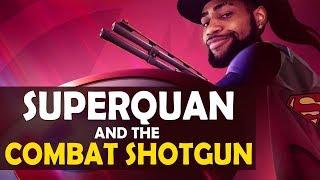SUPERQUAN AND THE COMBAT SHOTGUN