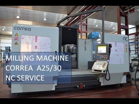Fräsmaschine CORREA A25/30 NC Service