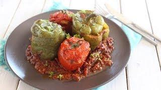 Recette de légumes farcis / sttufed vegetables reipe / طاجن الخضر المحشوة