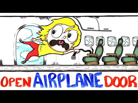 What Happens When a Planes Door Opens During Flight?