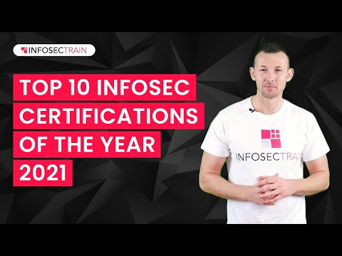 Top 10 Infosec Certifications For 2021   Highest Paying ... - YouTube