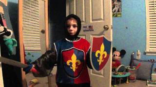 Marcus Medieval Knight Costume Oct 2011 003