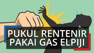 Kesal Ditagih Utang, Wanita di Bandung Pukul Rentenir dengan Tabung Gas 4 Kali hingga Pingsan