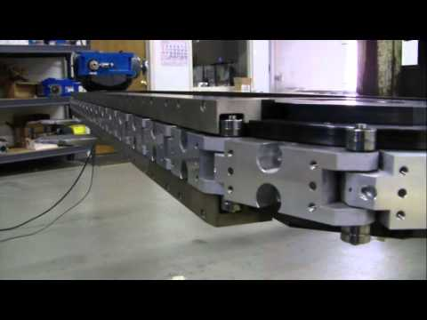 LF indexing conveyor of medical manufacturing