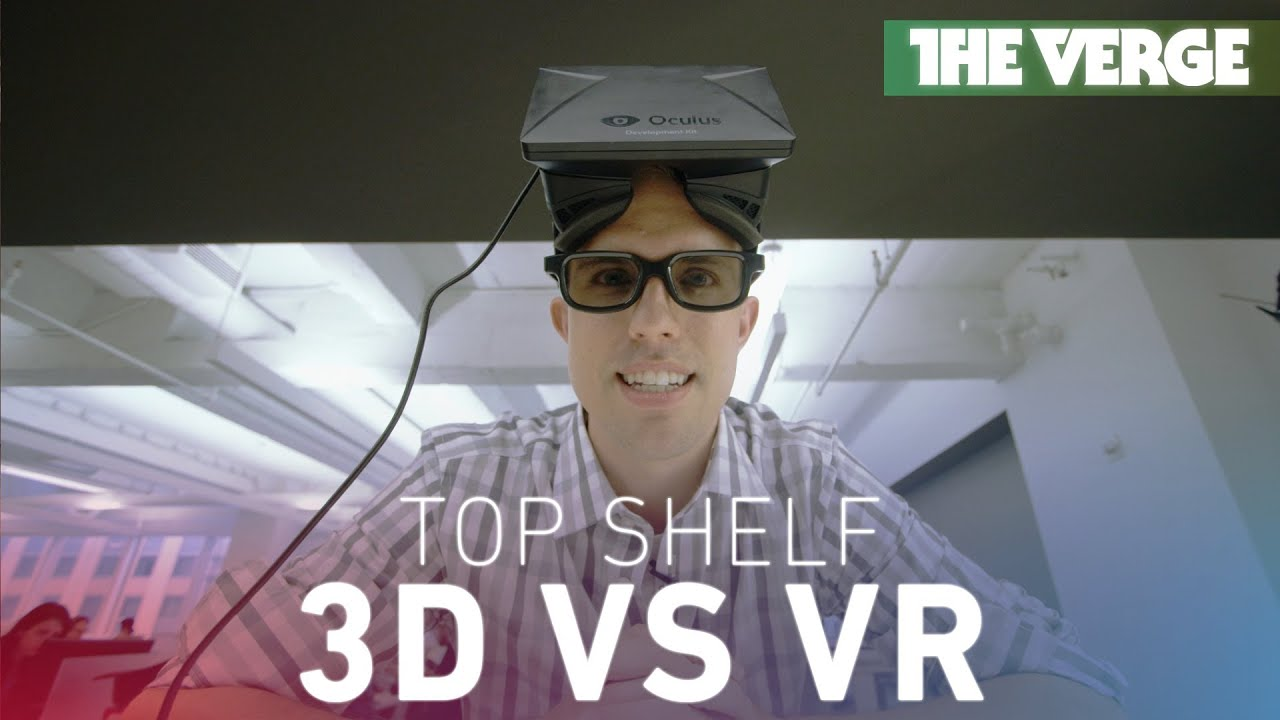 Top Shelf: 3D vs. virtual reality and the war for the future thumbnail