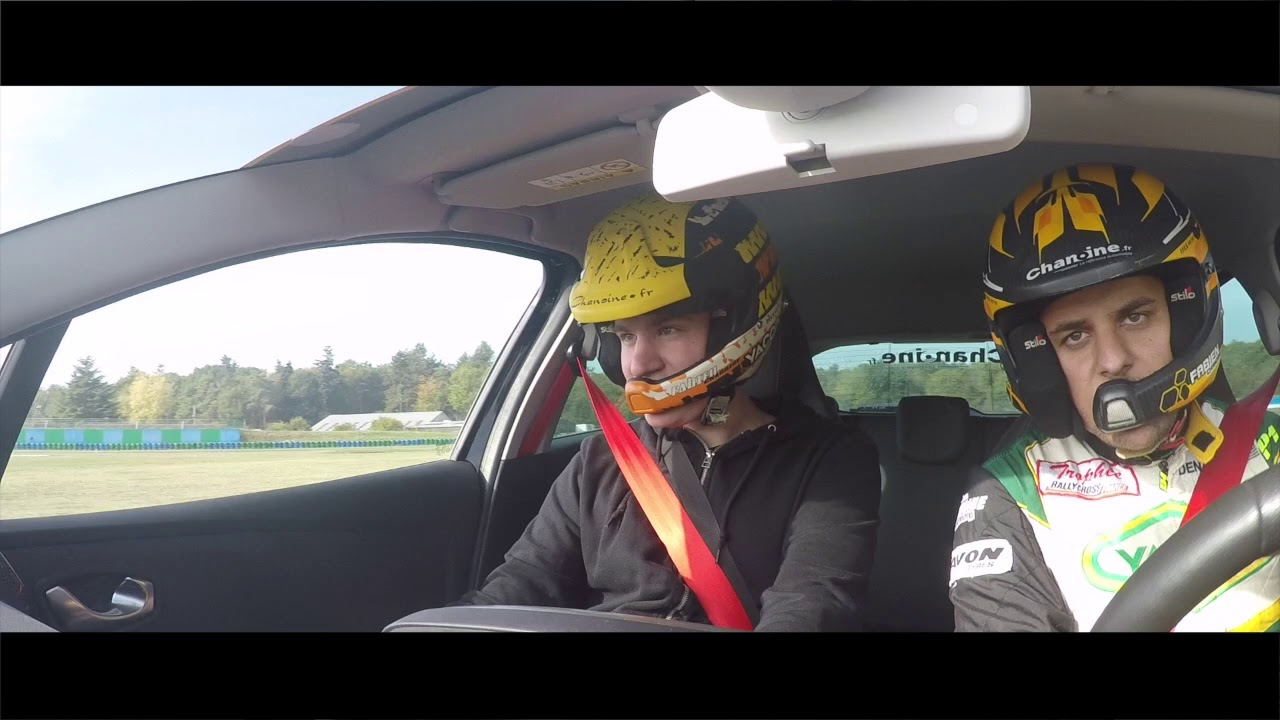 Onboard camera, with Fabien Chanoine...