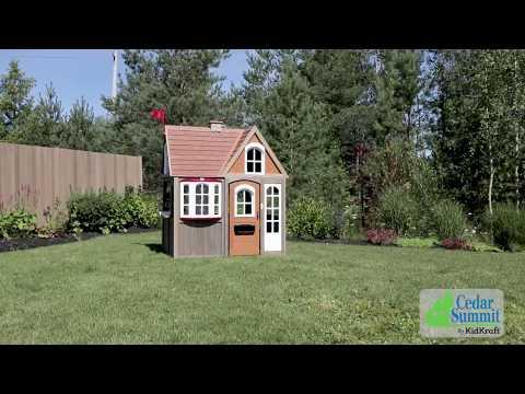 KidKraft Greystone Cottage speelhuisje