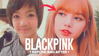 BLACKPINK - Predebut Vs Now : Before & After