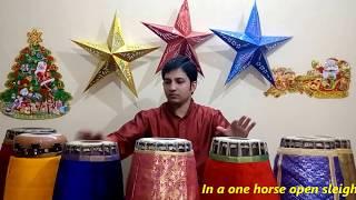 Christmas Carols Mash Up With Indian Twist - Jingle Bells - Mridangam Cover