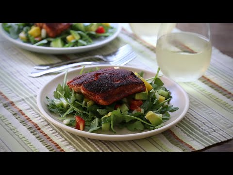 How to Make Blackened Salmon Fillets | Salmon Recipes | Allrecipes.com