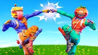 The ADVENTURES of TOMATO MAN and BURGER BOY In Fortnite!