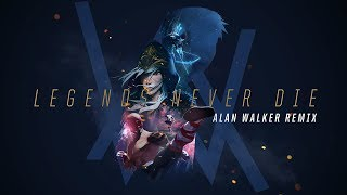 Riot Games Music Team & Alan Walker - Legends Never Die (Remix) (Audio)