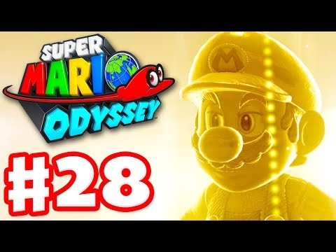 Super Mario Odyssey - Gameplay Walkthrough Part 28 - Ruined Kingdom 100%! Amiibos! (Nintendo Switch)