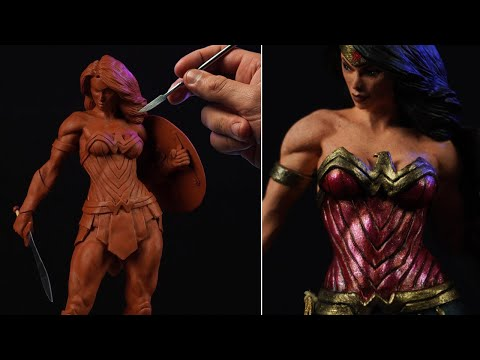 Sculpting Wonder Woman | DC Comics (Timelapse)