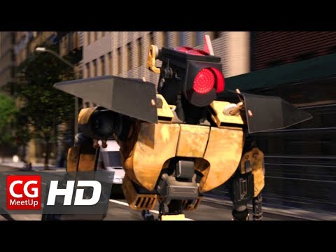 "CGI VFX Animated Short Film: ""Angry Signal"" by ISART DIGITAL 