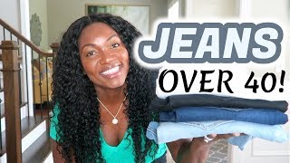 FASHION OVER 40 | JEANS | THE BEST PAIR FOR YOUR BODY TYPE