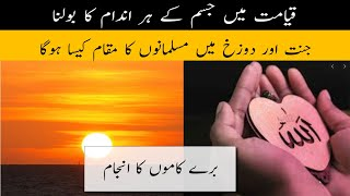 Qayamat Mai Jisam Ka Gawah Rehna | Awraaq Islamic TV