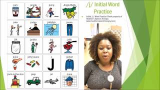 Speech Therapy Techniques: /J/ Articulation Drill