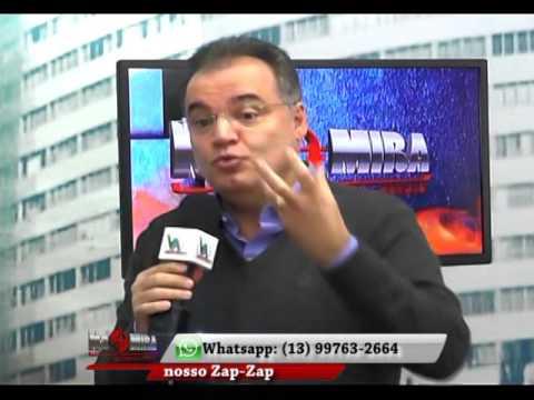 Programa Na Mira de Peruíbe entrevista o Deputado Federal e Secretário da Casa Civil Samuel Moreira
