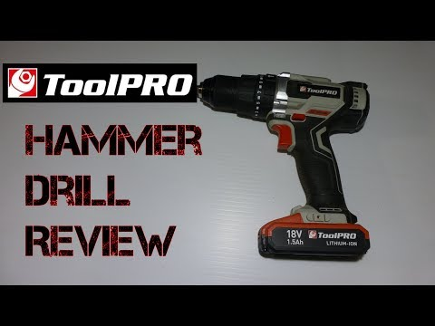 ToolPRO 18v Hammer Drill Review | Happy Bathurst Day | Long Version
