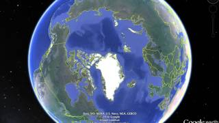 North Pole Missing? Is Google Maps editing Images? Or Climate Changed Dramatic?