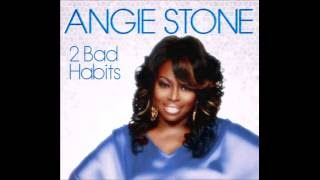 ANGIE STONE - 2 BAD HABITS - WITH LYRICS