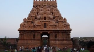 The Brihadeeswara temple, Thanjavur