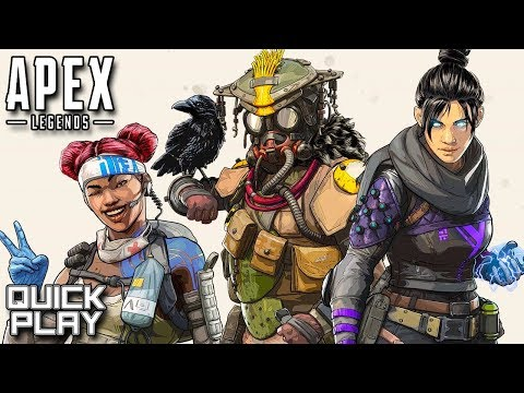 Apex Legends Gameplay - #1 Champions! Battle Royale Victory with Zanitor! (Quick Play)