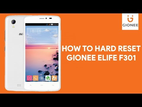 How To Hard Reset Gionee Elife F301 - [romshillzz]
