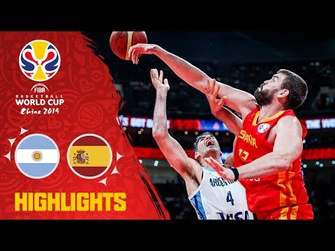 Download Argentina v Spain - Full Game Final Highlights - FIBA Basketball World Cup 2019 Mp4 HD Video and MP3
