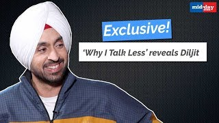 'Why I Talk Less' reveals Diljit Dosanjh | Arjun Patiala | Kriti Sanon