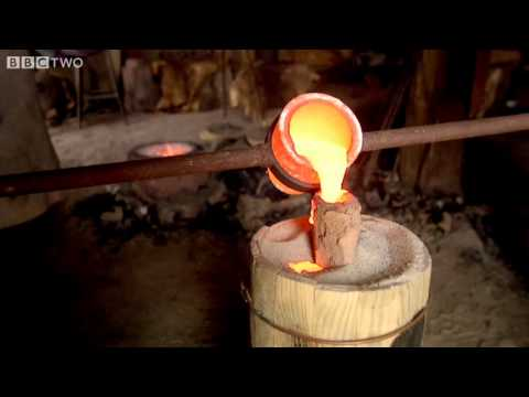 Watch Liquid Fire Become A Metal Sword In Minutes