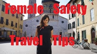preview picture of video 'Female Safety Travel Tips'