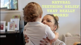 Natural baby teething relief - gentle and effective