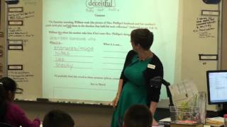Classroom Video: Vocab Routine - Deceitful