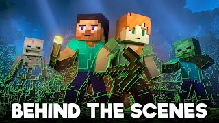 Survival: BEHIND THE SCENES - Alex and Steve Life (Minecraft Animation)